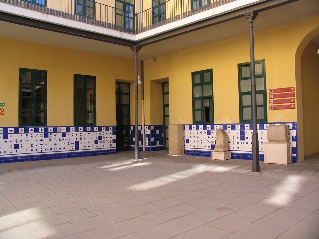 Patios del Centre Cultural La Beneficencia