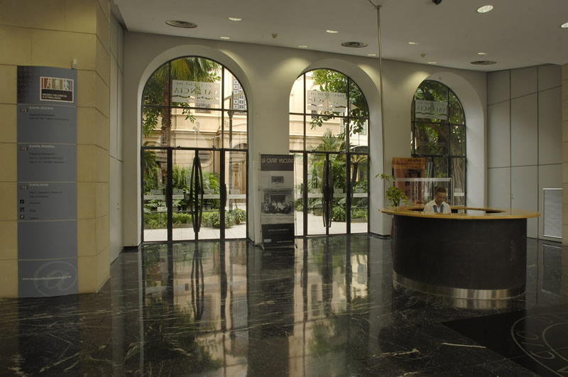 Vestíbulo del Centre Cultural La Beneficència